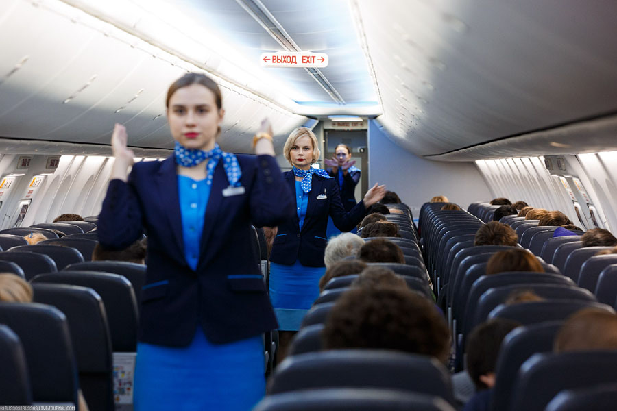 Инструкция по безопасности во время полета ак Победа