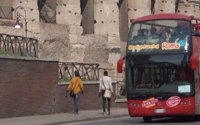 Бас туристик в Риме