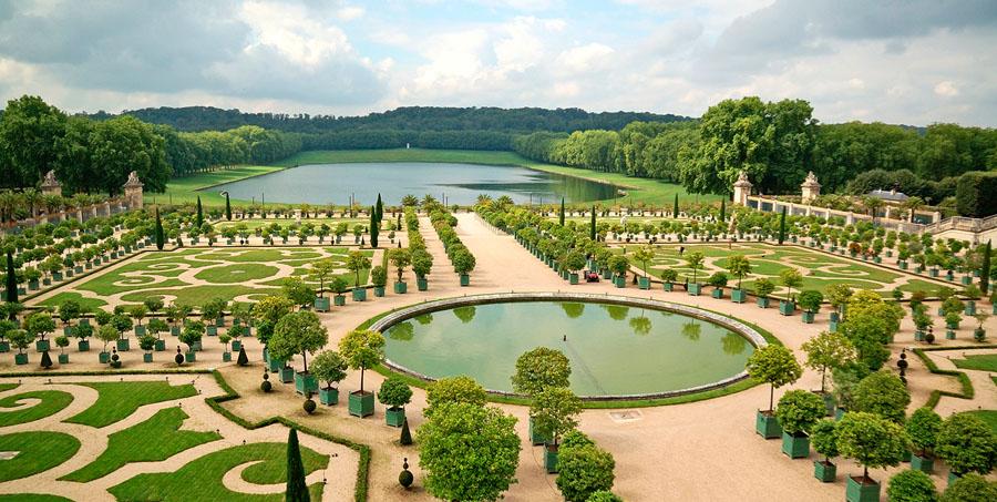 Парк на территории Версаля
