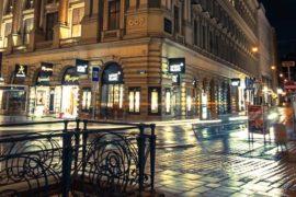 Фотография ночной Вены