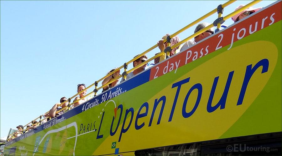 Второй этаж автобуса L'OpenTour
