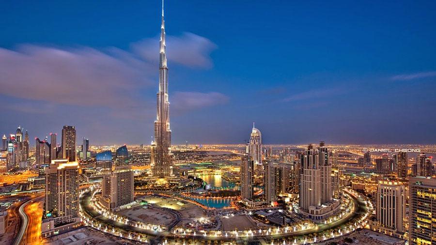 Самое высокое здание Бурж Халифа