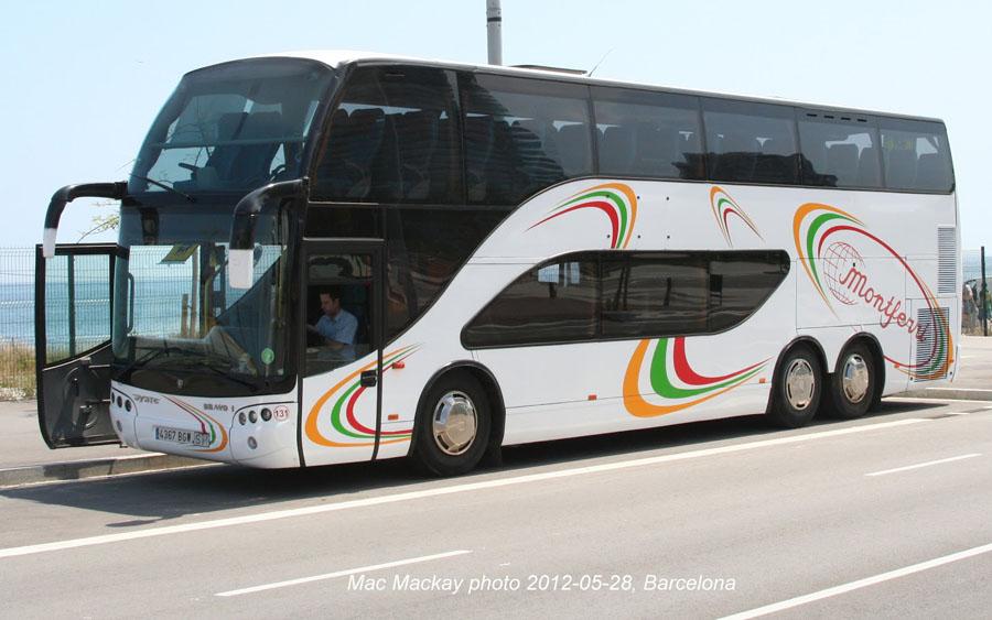 Экскурсия на автобусе в Барселону