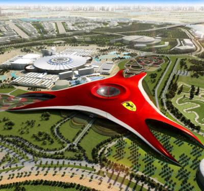 Fararri World в Абу Даби