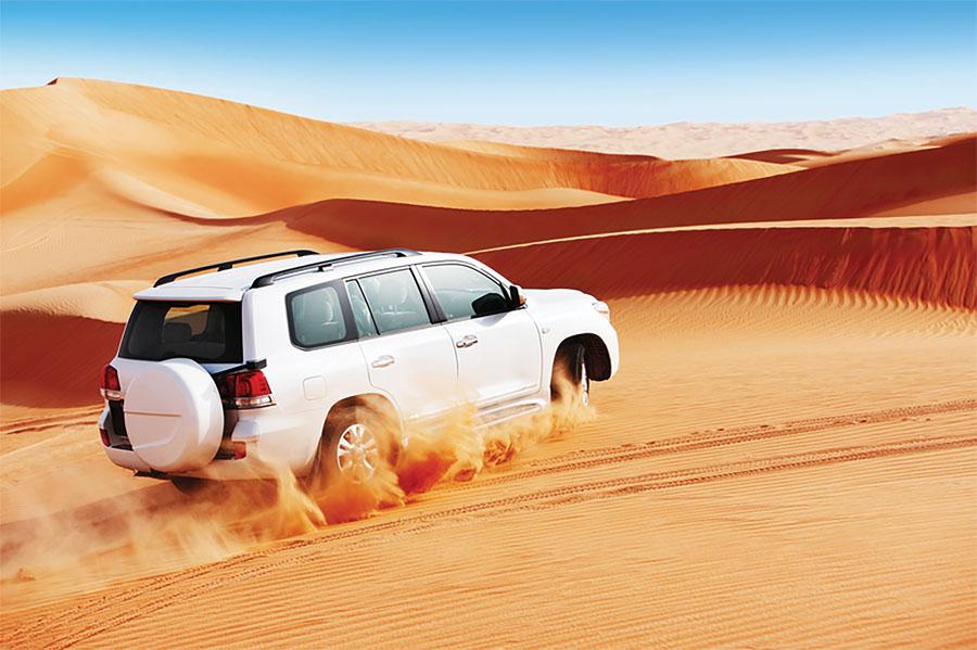Сафари в пустыни Дубаи