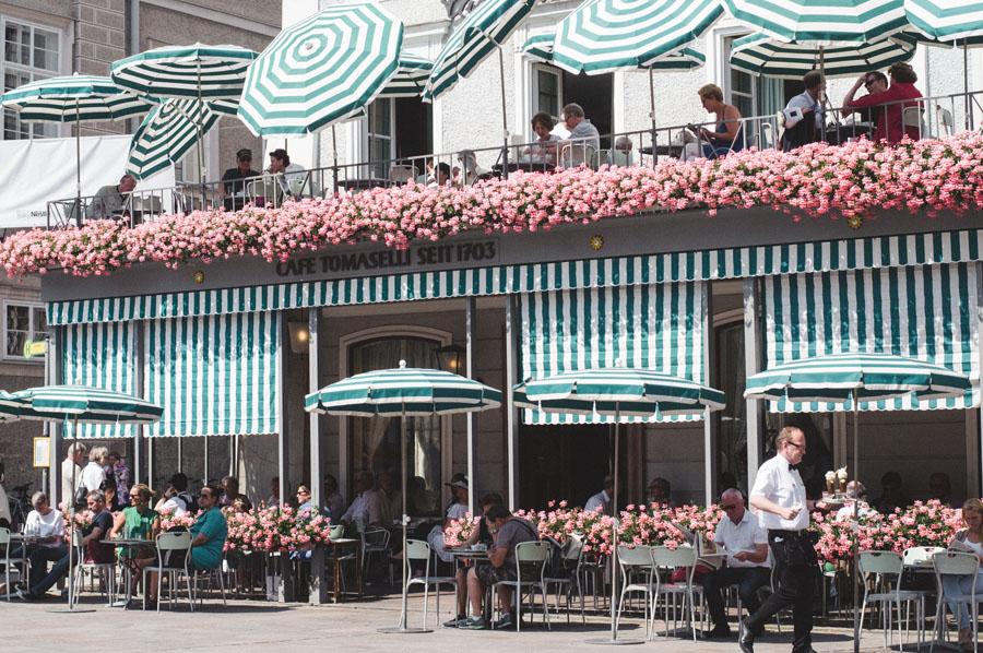 Кафе в Зальцбурге