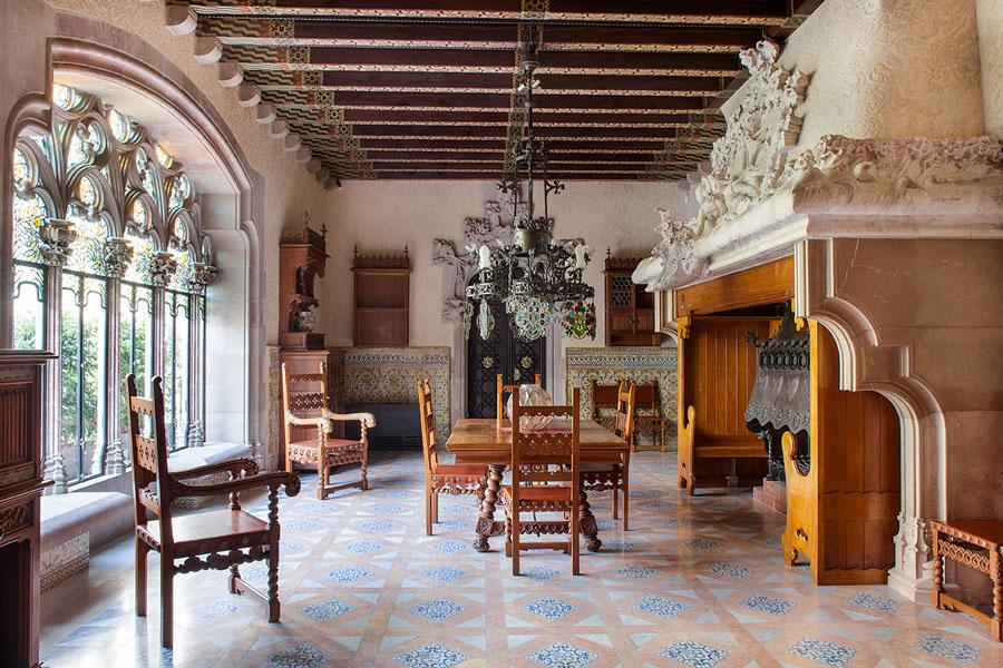Интерьер Casa Amatller в Барселоне