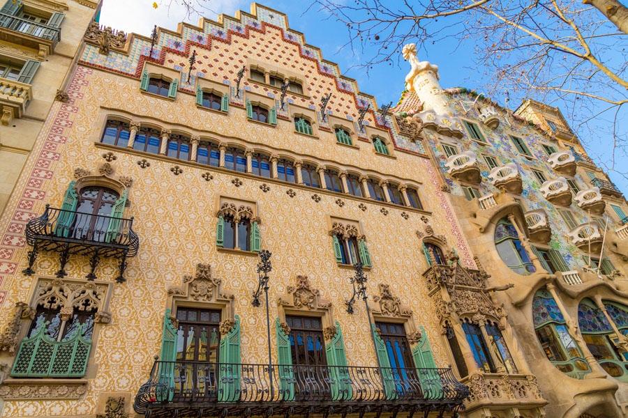 Casa Amatller в Барселоне