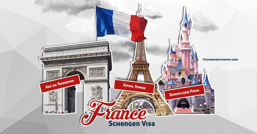 Правильное заполнение анкеты на визу во Францию