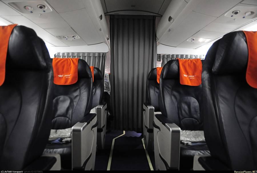 Бизнес класс в суперджетах Аэрофлота
