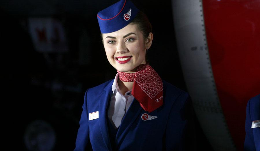 Стюардесса авиакомпании Россия