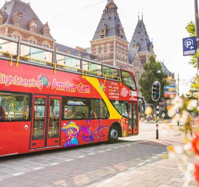 Автобусы Hop On Hop Off в Амстердаме