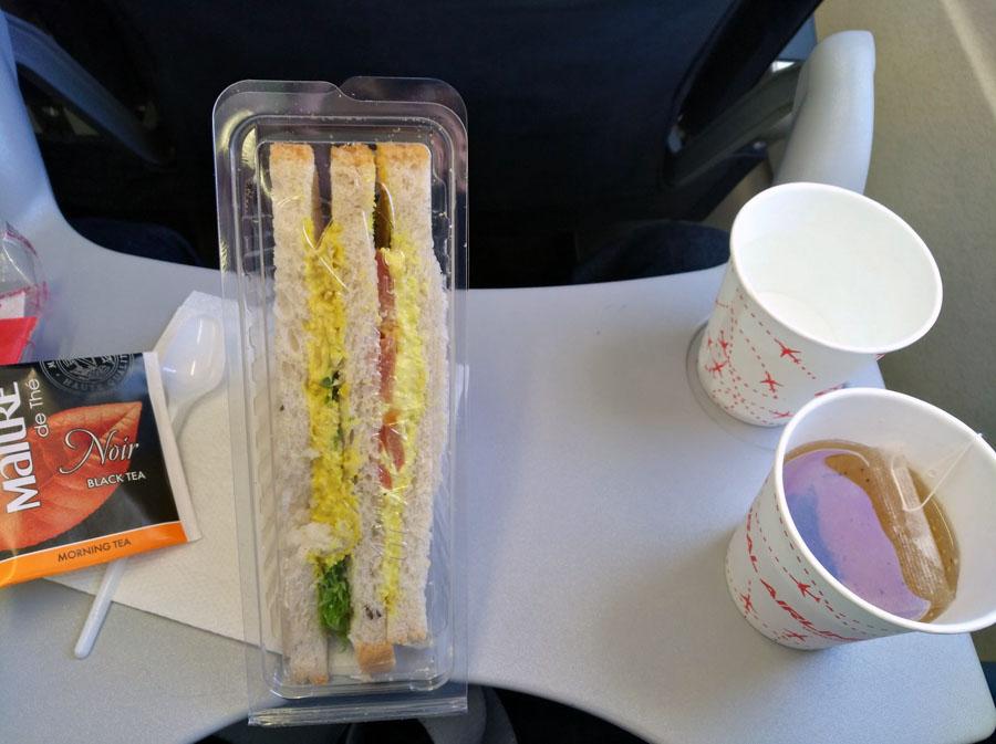 Москва Сочи, еда в эконом классе U6