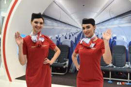 Стюардессы Уральских Авиалиний