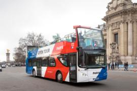 Автобусы Опен Тур в Париже
