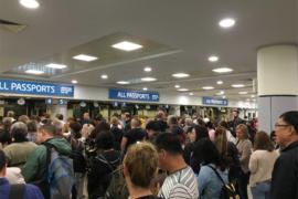Пасспортный контроль на границе Чехии