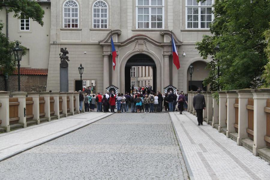 Пороховой мост в Праге
