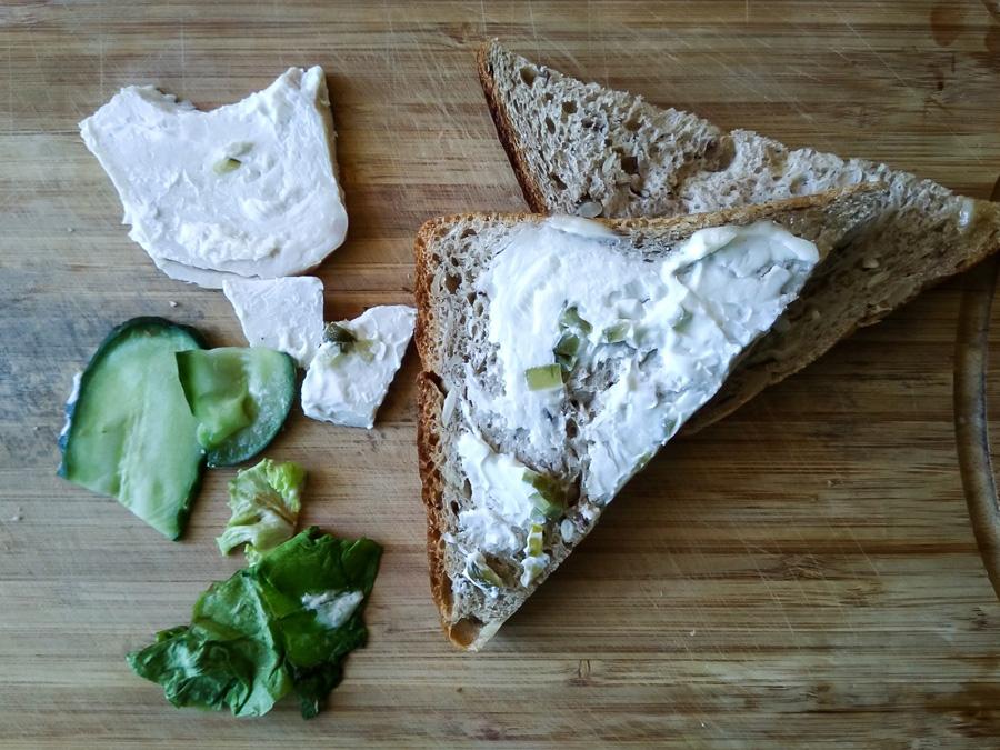 Разобранный бутерброд S7