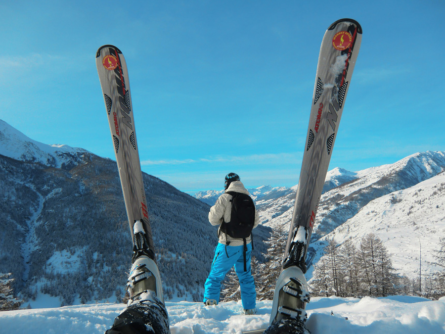 Лыжи в горах