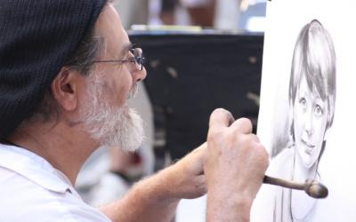 Художник во Флоренции