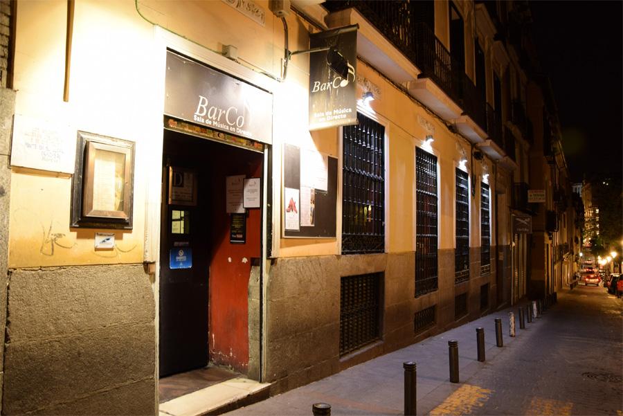 Ночной клуб в Мадриде