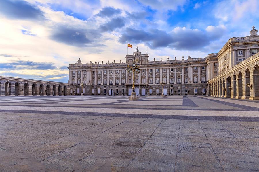Площадь королевского дворца