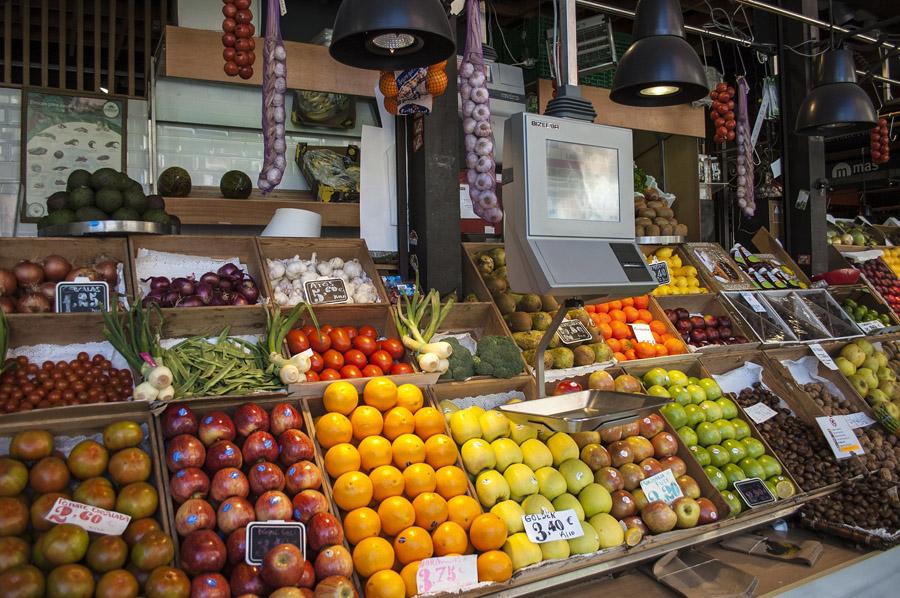 Рынок Растро в Мадриде