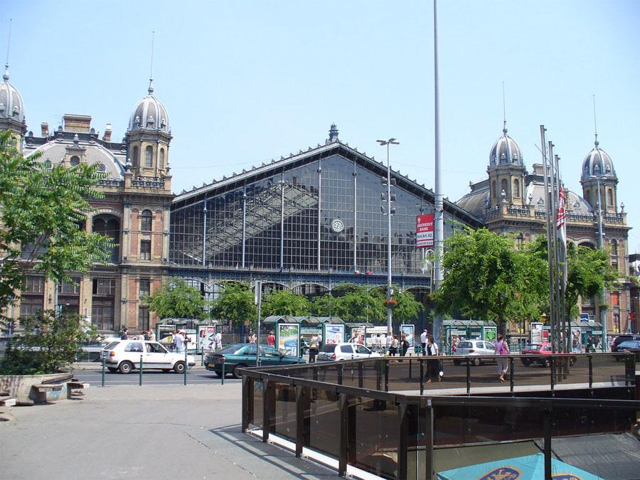 Западный вокзал Будапешта