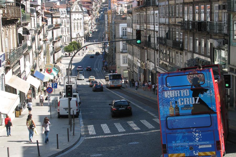 Перепады в Порту