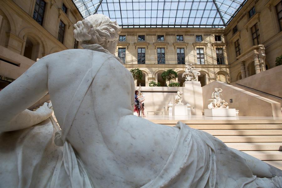 Нижний этаж Лувра