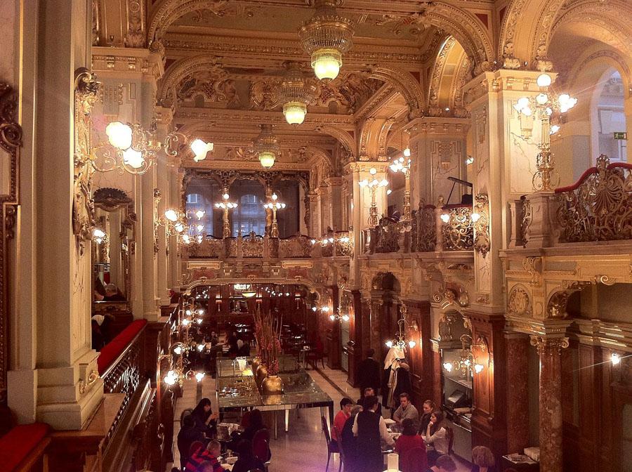 Кафе Нью Йорк в Будапеште