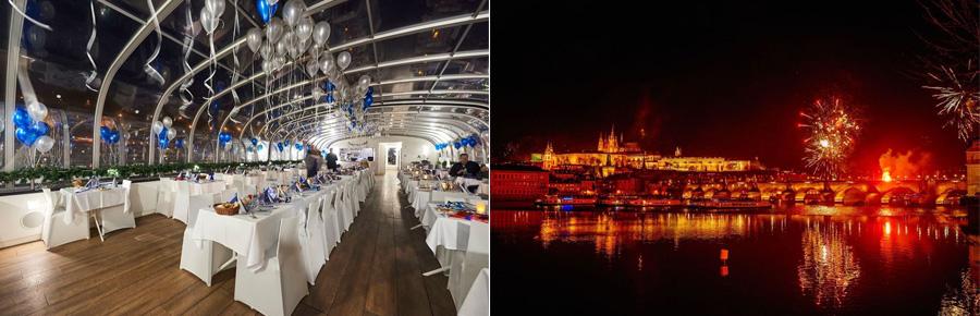 Новогодний круиз по Праге
