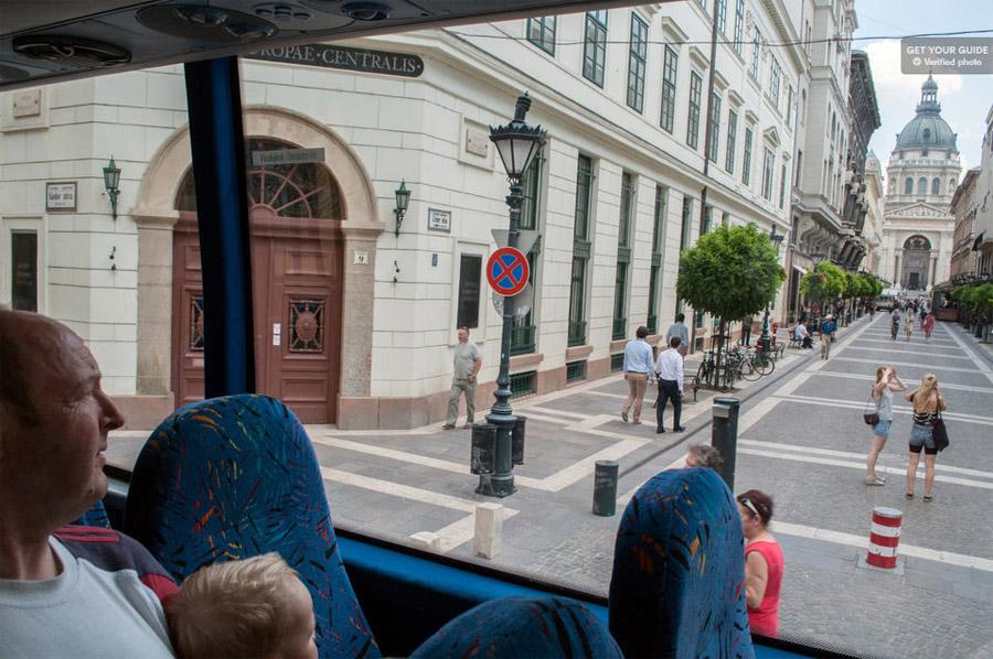 Маршрут по улицам Будапешта