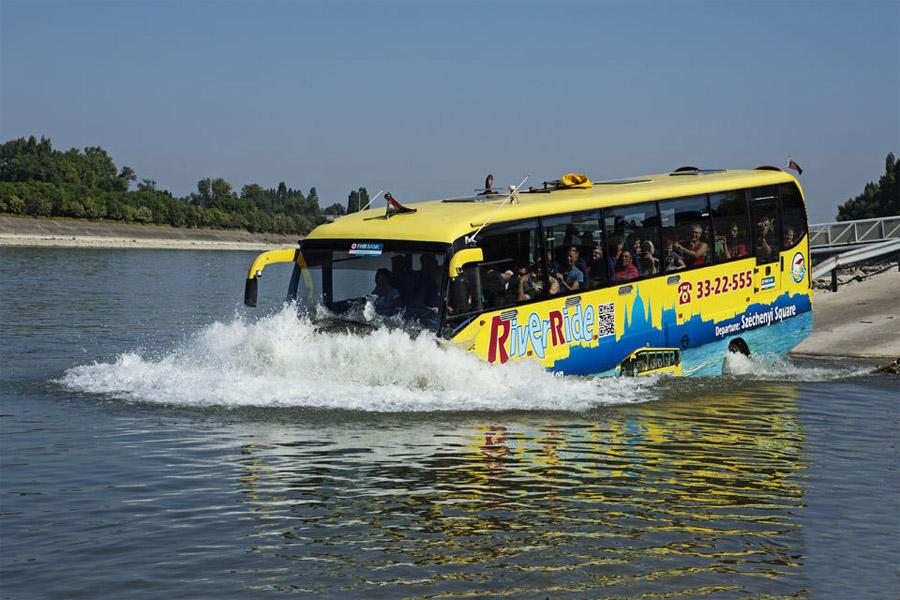 Водный автобус в Будапеште