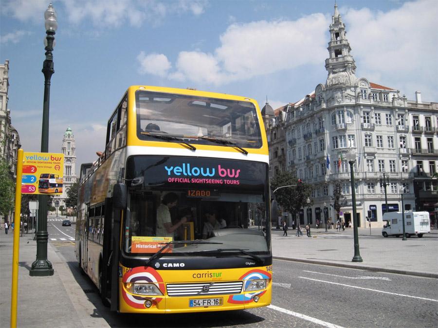 Остановки желтого автобуса