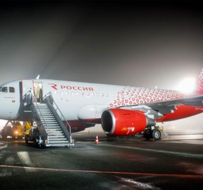 А 319 авиакомпании Россия