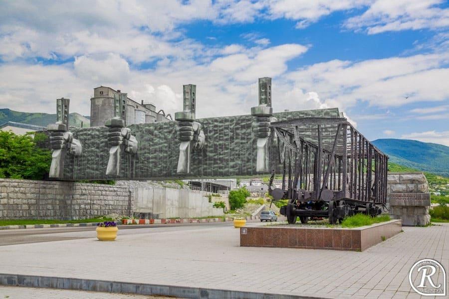 Рубеж обороны в Новороссийске