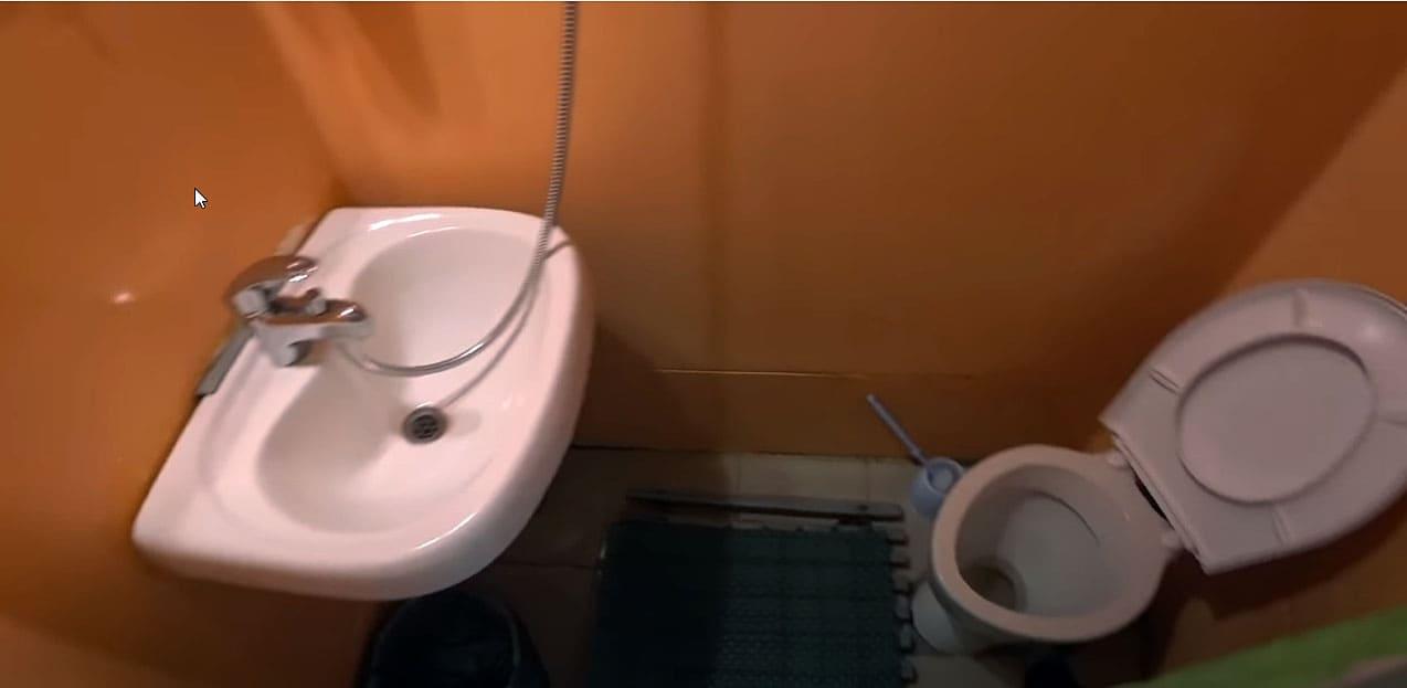 Туалет каюты 110