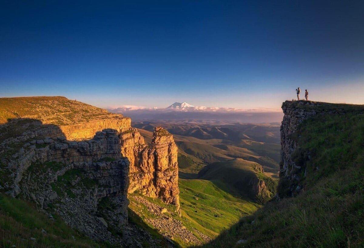 Вид с плато Бермамыт