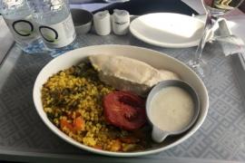 Продолжение еды в Аэрофлоте